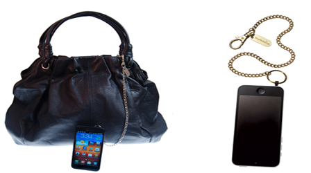 Sick of losing your mobile phone inside your handbag?