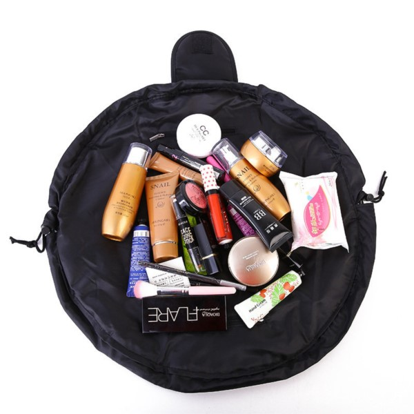 30a74aef79b Drawstring Portable Makeup Bag, Travel Cosmetic Make Up Pouch ...