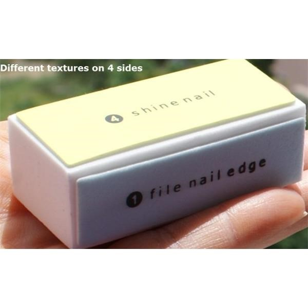 4-Way Nail Buffer Block - Nail File - Nail Polisher and Buffs - Nail ...