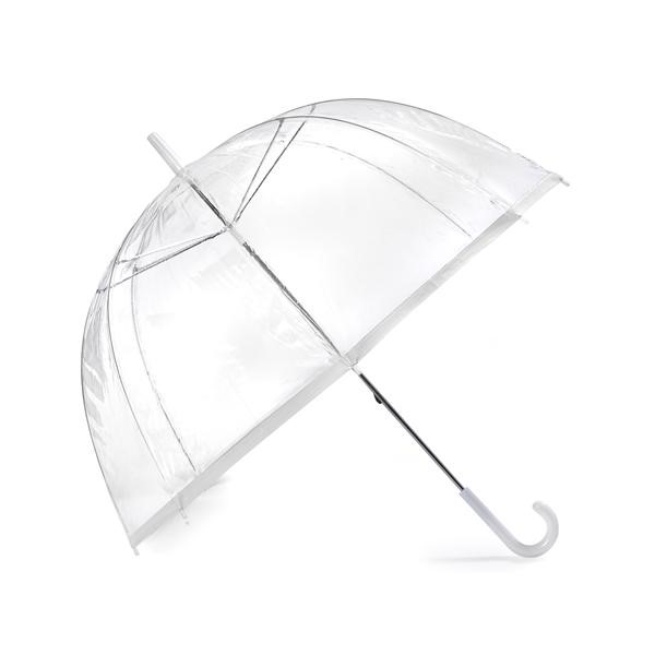 Clear Umbrellas Bridal Coloured Fancy Frilly Wedding Heart Shaped