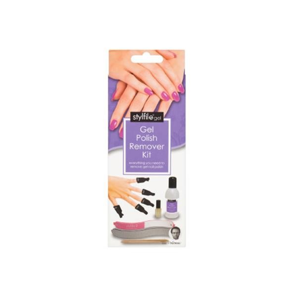Gel Nail Polish Remover Kit includes everything you need to safely ...