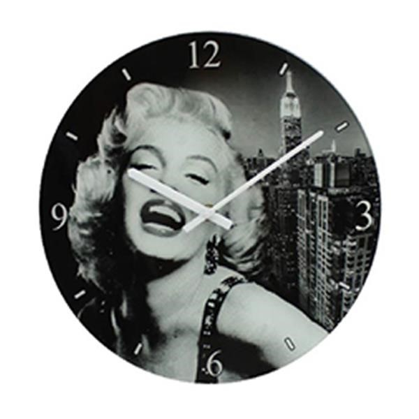 office wall clock. Perfect Office Marilyn Monroe Glass Wall Clock  Office  Gift Ideas Hollywood Icons Inside