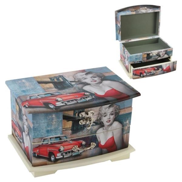 Marilyn Monroe Jewellery Box Marilyn Monroe Hollywood Icons
