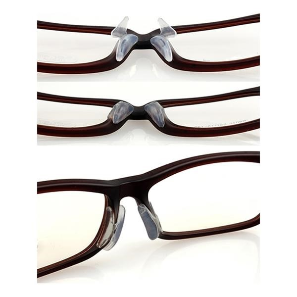 b2ae3653b28 Soft Silicone Nose Pads for Eyeglasses - Replacement Nosepads - Nose Pads  for Glasses - Stick on Nosepads