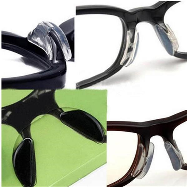 af1392410957 Soft Silicone Nose Pads for Eyeglasses - Replacement Nosepads - Nose Pads  for Glasses - Stick on Nosepads