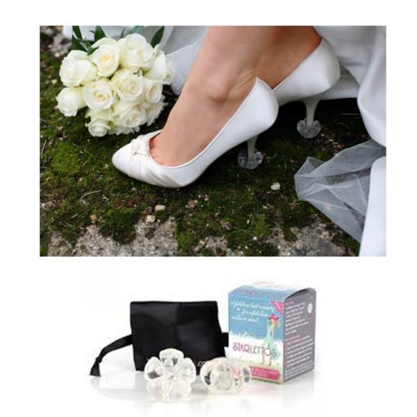 7573068ba3e Starlettos High Heel Protectors - High Heel Protection - Clean Heels ...