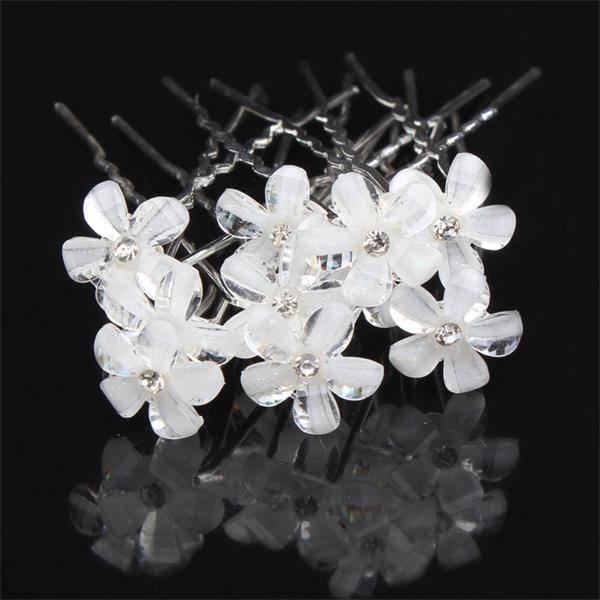 Bridal Hair Clips Bridal Hair Pins Flowergirl Hair Clips Wedding